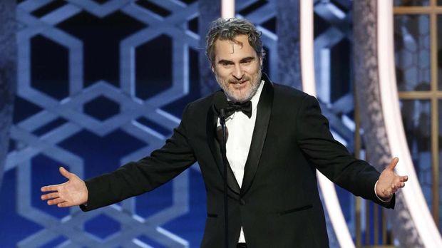 Joaquin Phoenix Sindir Seleb Hollywood di Golden Globe 2020