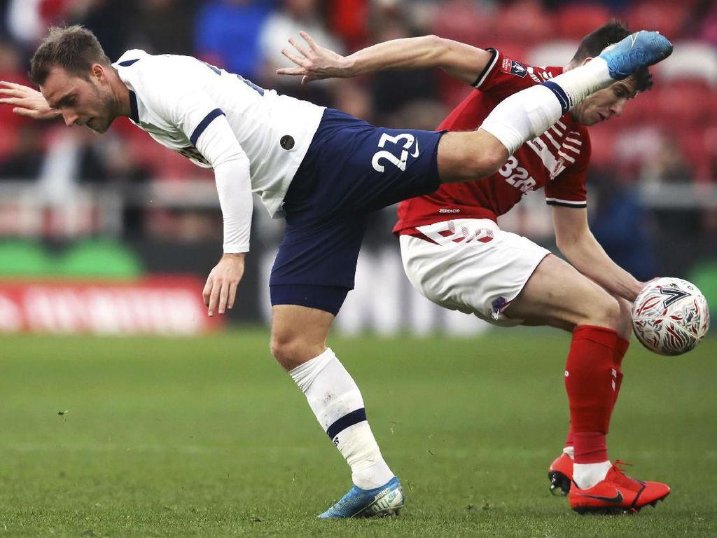 Hasil Piala FA: Middlesbrough Paksa Tottenham Lakoni Laga Ulangan