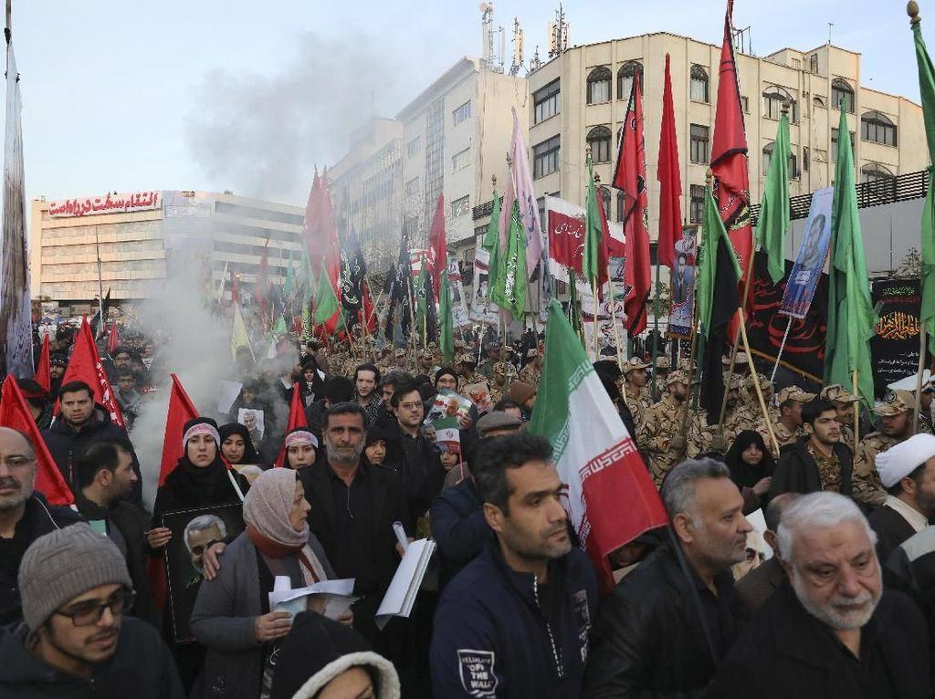 Setelah Bunuh Soleimani, Militer AS Diminta Angkat Kaki