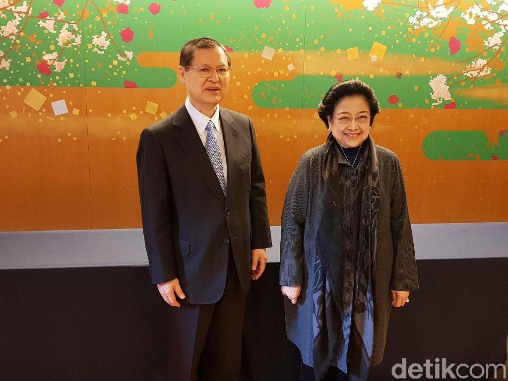 Bertemu Pimpinan Soka Gakkai, Megawati Bahas Perubahan Pesat Jepang
