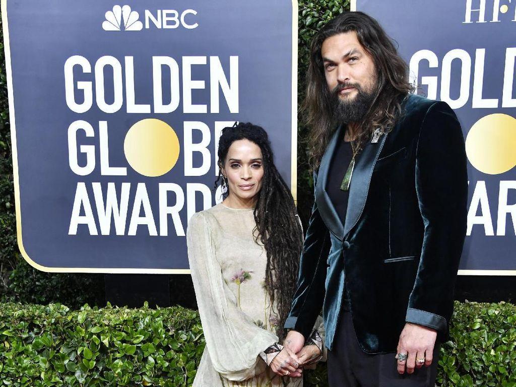 Alasan Romantis Jason Momoa Pakai Tanktop di Golden Globe 2020