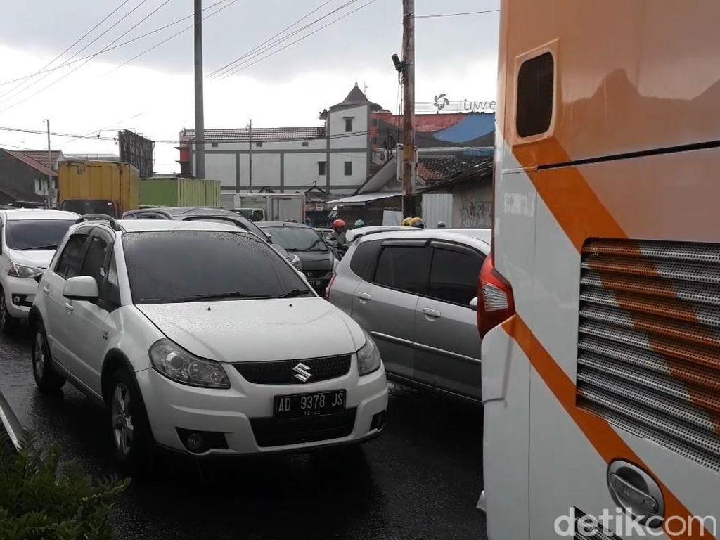 Macet di Palang Joglo Solo Makin Parah, Polisi Siapkan Rekayasa Lalin