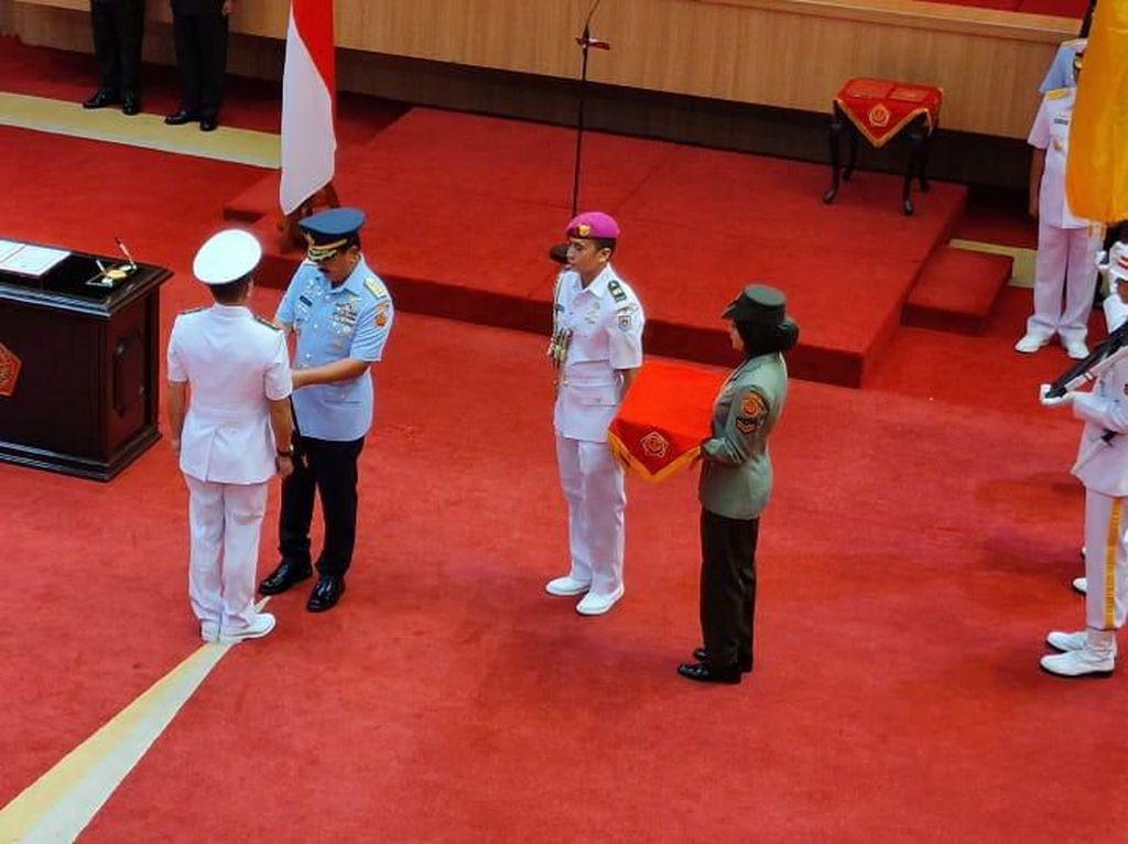 Momen Panglima TNI Resmikan Pusinformar Untuk Tingkatkan Keamanan Laut