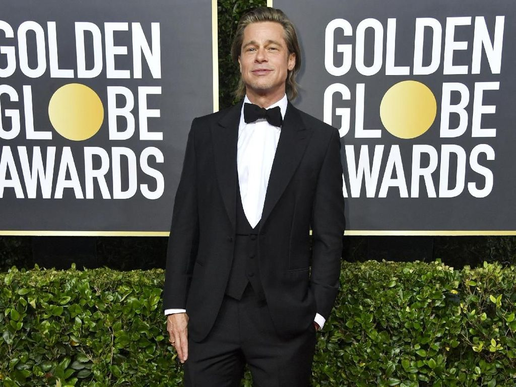 Menang Golden Globe, Brad Pitt Terima Kasih pada Leonardo DiCaprio