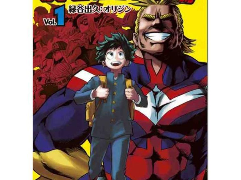 My Hero Academia Rajai Manga Terlaris di AS