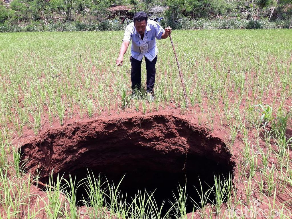 BPBD: Ada 33 Sinkhole Baru yang Muncul di Gunungkidul Sejak 2018