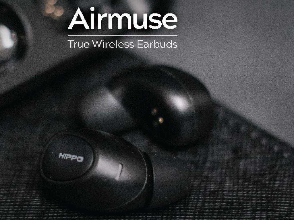 Hippo Elite Airmuse, Earphone TWS Seharga Rp 1,3 Juta