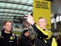 Tolak MU, Haaland Sebut Dortmund Tak Banyak Basa-basi
