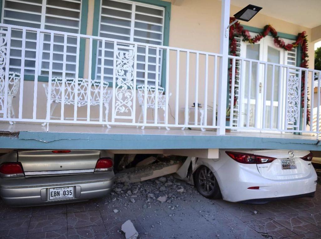 Gempa Bumi M 6,5 Guncang Puerto Rico, Kedua dalam 2 Hari