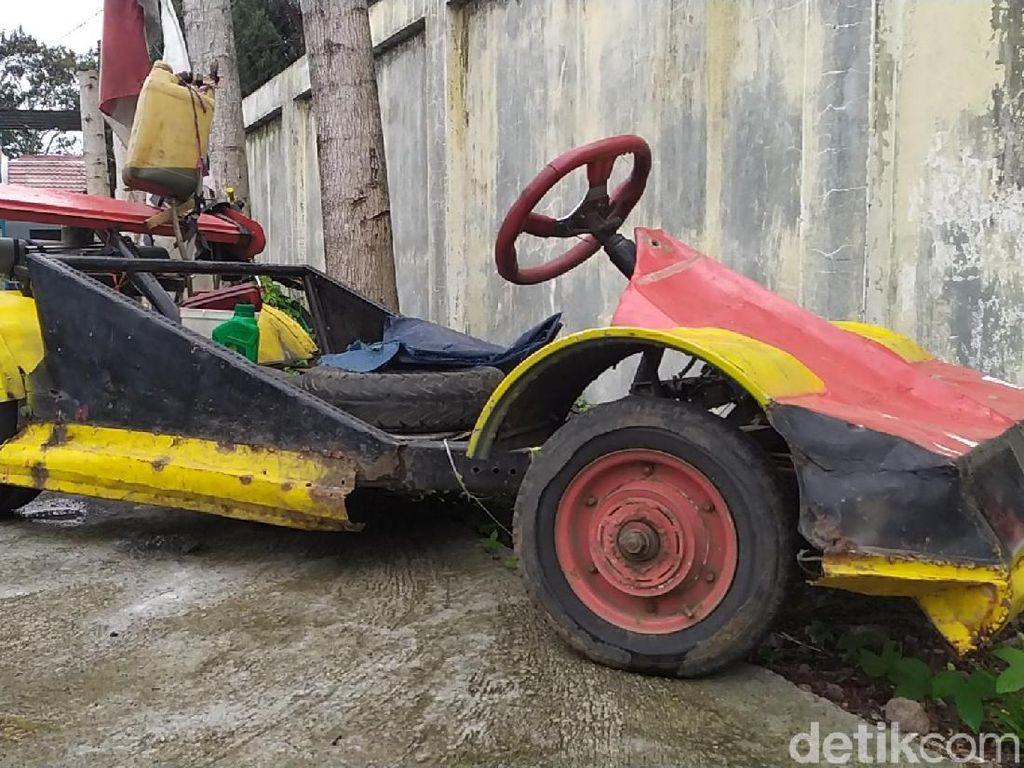 Dua Alasan Polantas Garut Tilang Mobil Formula 1 KW