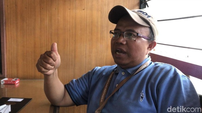 Foto: Sudarto ditangkap karena tulisan larangan Natal (Jeka-detikcom)