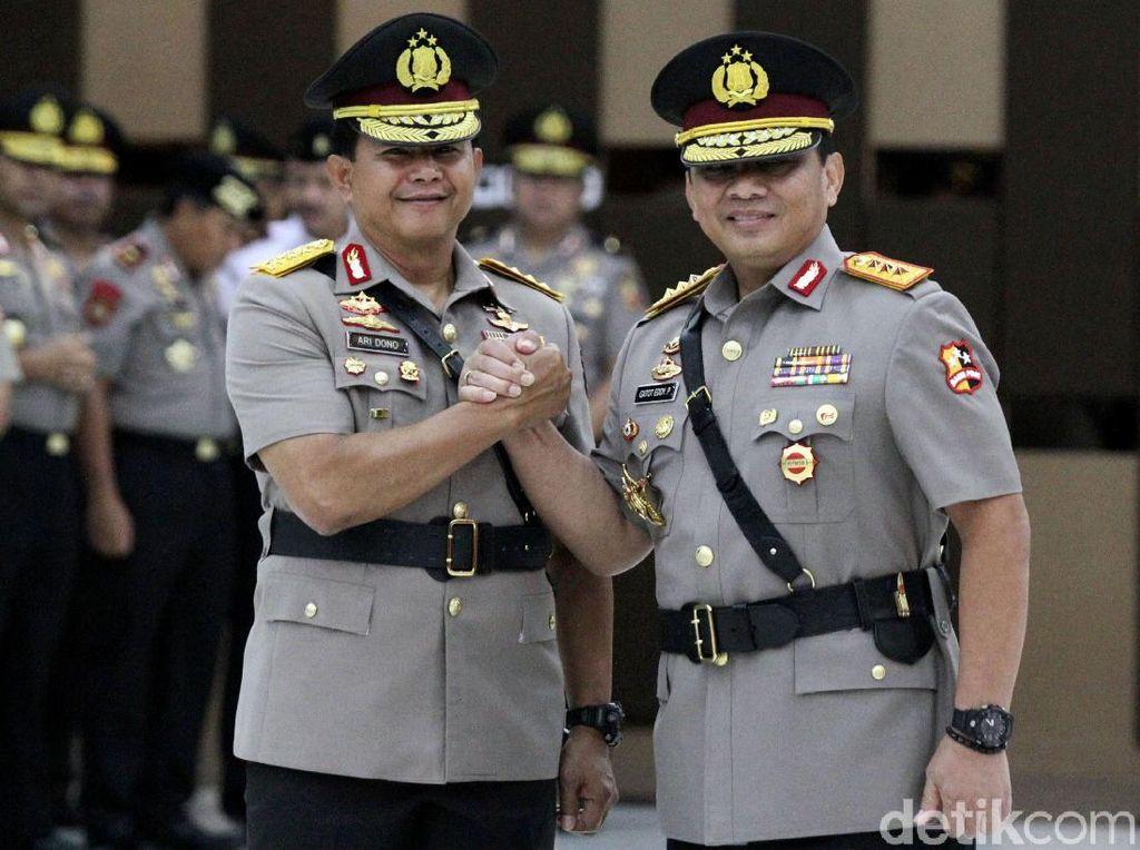 Komjen Gatot Eddy Pramono Resmi Jabat Wakapolri