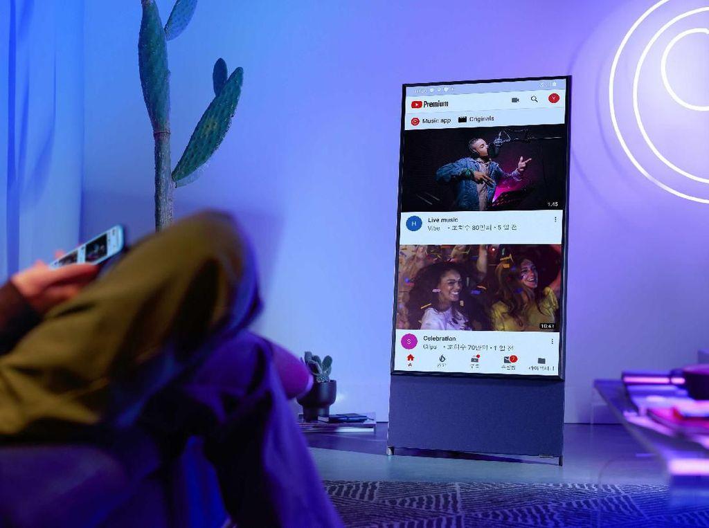 Samsung Hadirkan Televisi untuk Pengguna Tik Tok dan Instagram