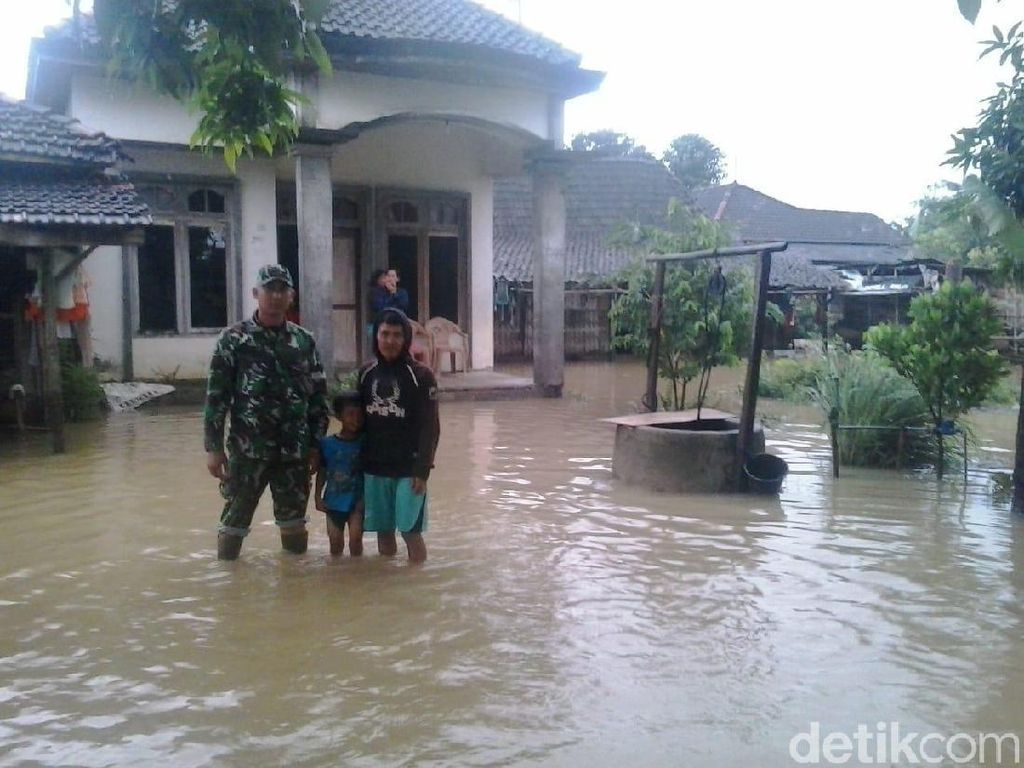 Makin Meluas, Banjir Genangi 9 Desa di Pati