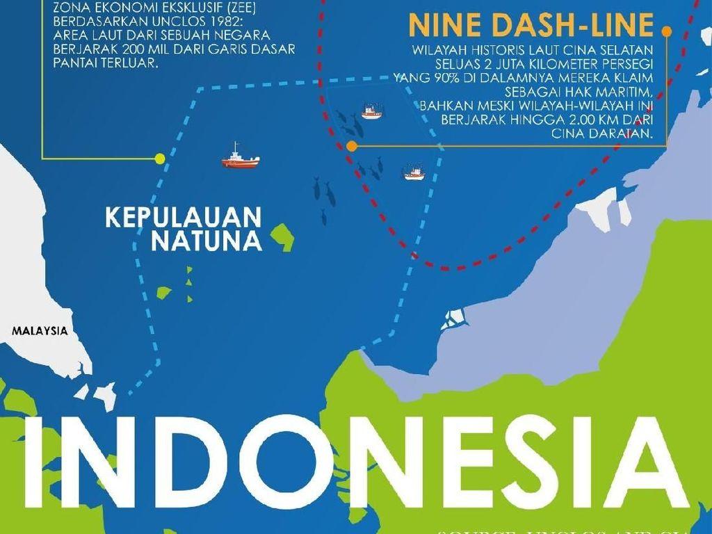 Kemlu Respons Dubes China soal Natuna: Memang Milik Indonesia