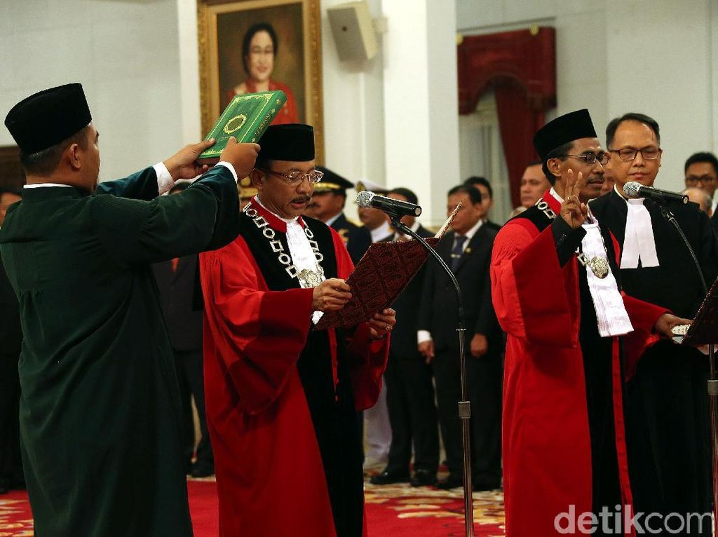 Sah! Daniel Yusmic dan Suhartoyo Jadi Hakim MK