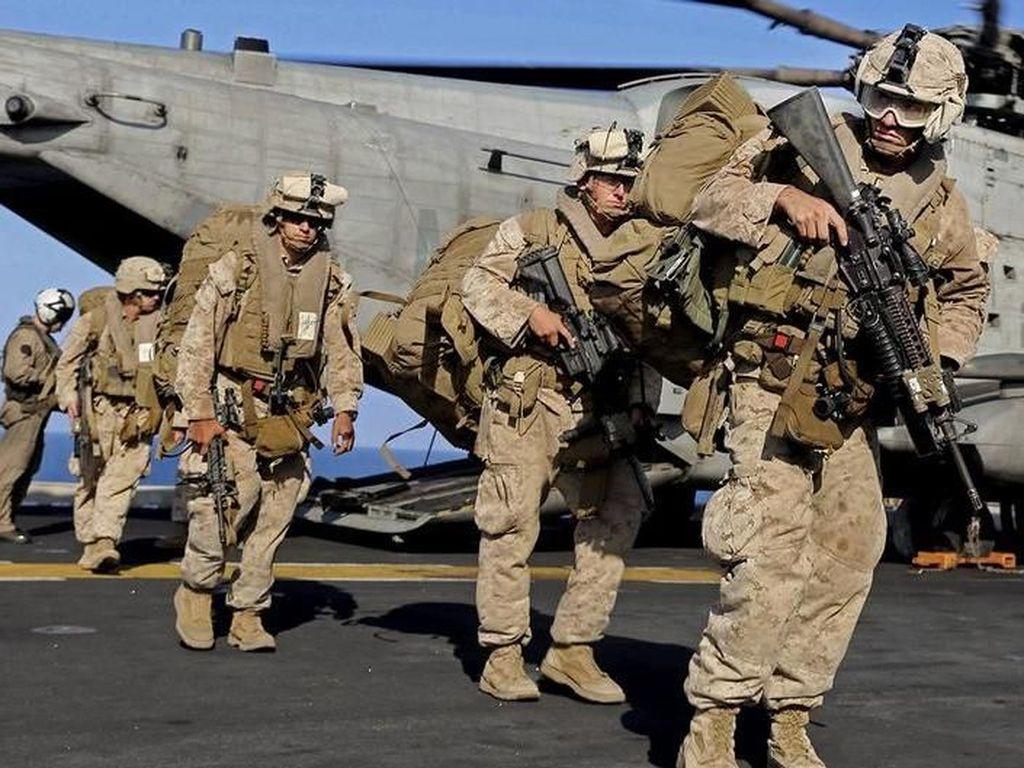 Adu Kekuatan Militer AS Vs Iran, Siapa Paling Kuat?