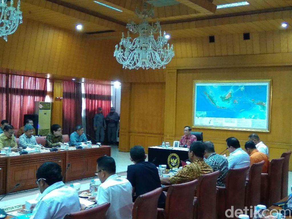 Mahfud Md Pimpin Rapat Bahas Tumpang-Tindih Penanganan Keamanan Laut