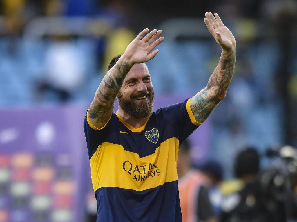 Angkat Kaki dari Boca Juniors, De Rossi Putuskan Pensiun?