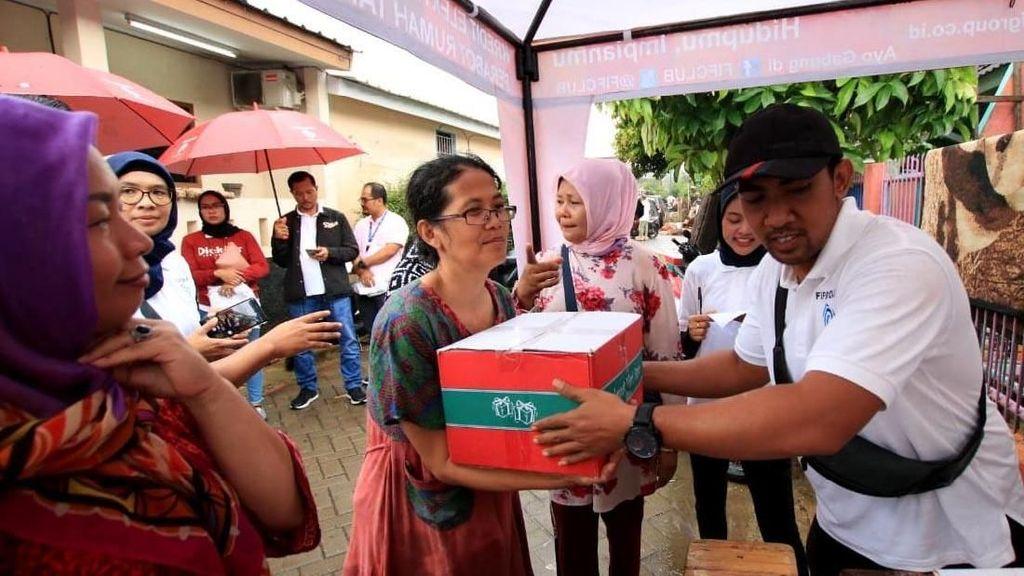 Salurkan Bantuan untuk Korban Banjir Jabodetabek