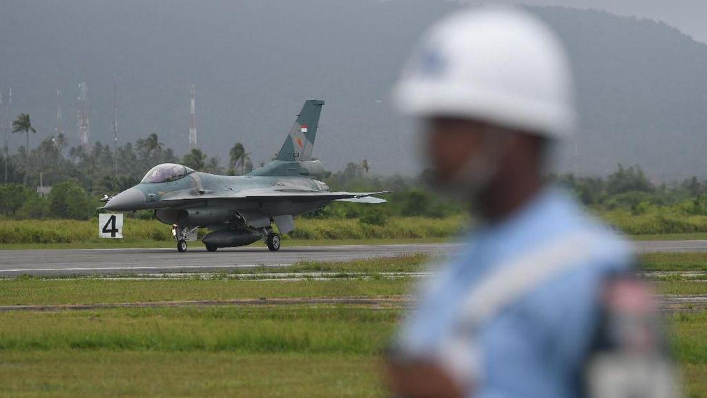 Natuna Tegang, Pesawat Tempur F16 C Didatangkan
