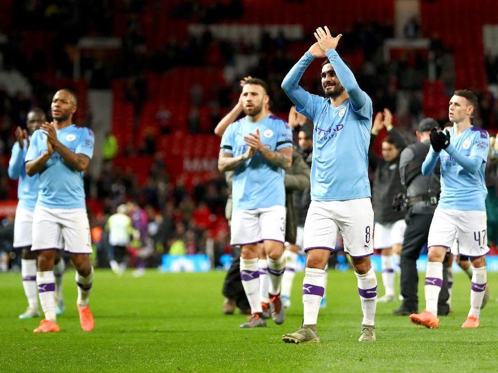 8 Data dan Fakta Kemenangan Man City Atas Man United