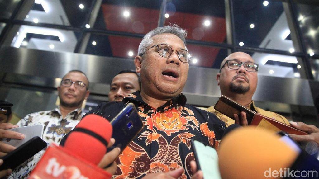 Bertemu Pimpinan KPK, KPU Pastikan OTT Wahyu Setiawan