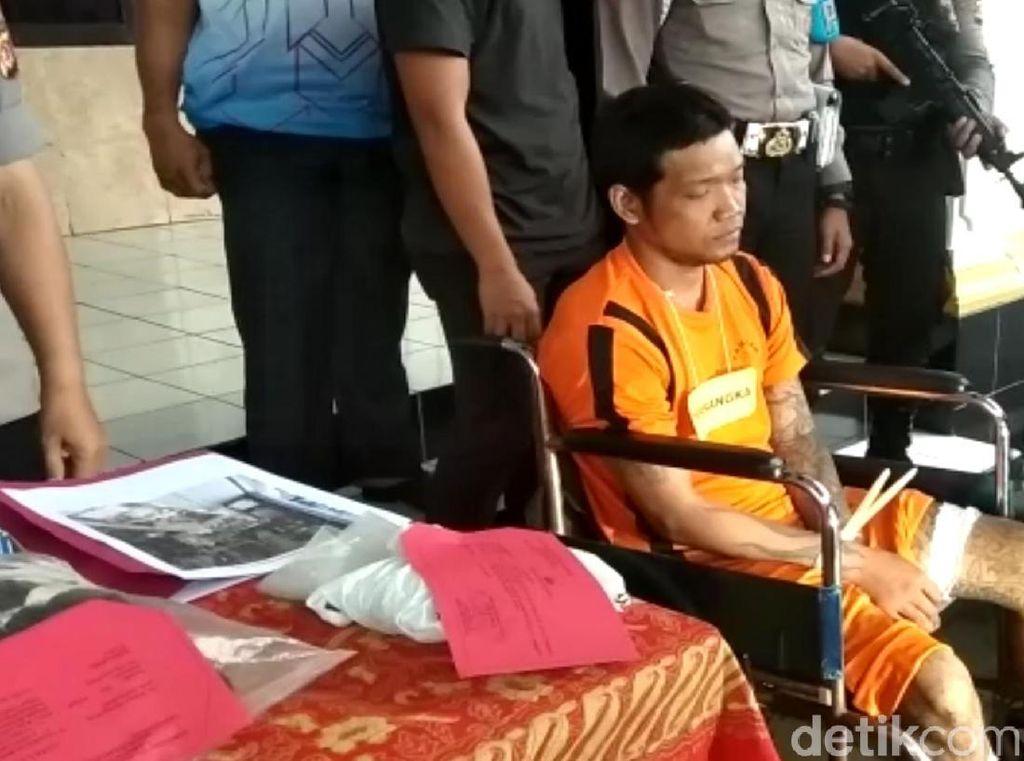 Tusuk Driver Ojol Sukabumi, Pelaku Pilih Gondol HP daripada Motor