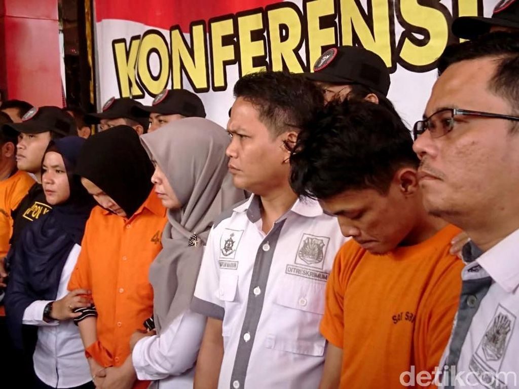 Kata Polisi soal Eksekutor Hakim Jamaluddin Sewaan Zuraida Hanum
