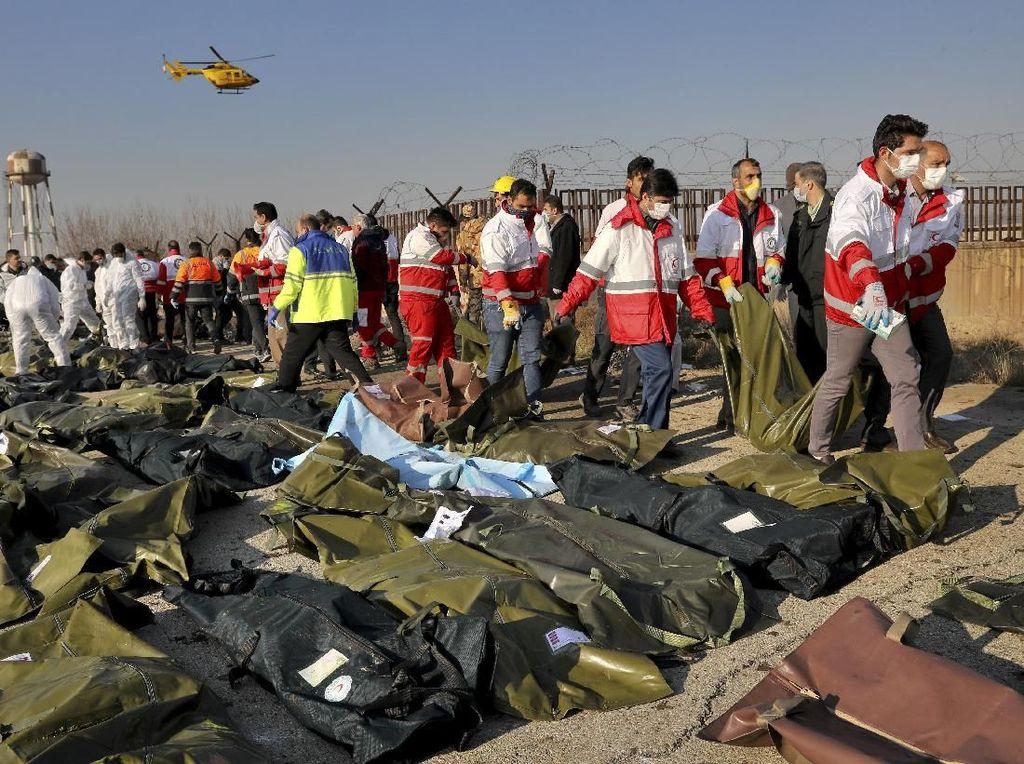 Ukraina Selidiki Dugaan Iran Tembak Jatuh Pesawat dengan Rudal Tor Buatan Rusia