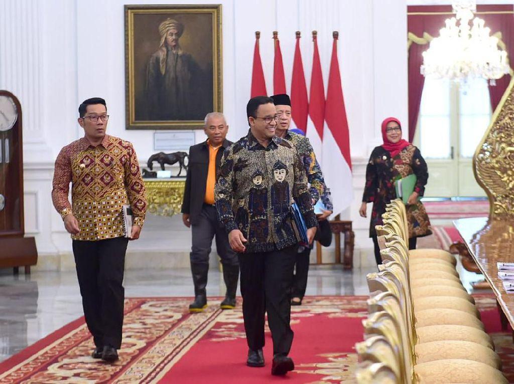 Jokowi Perintahkan Normalisasi Sungai Jalan Terus, Ini Kata Anies
