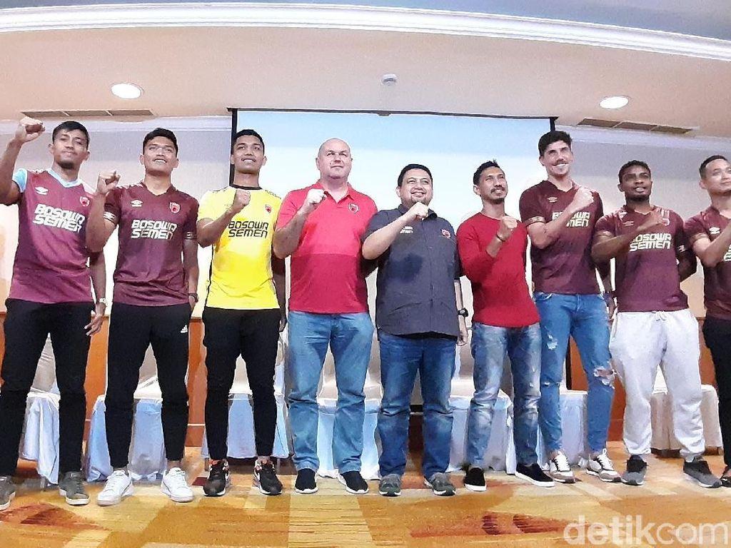 PSM Makassar Perkenalkan Pemain Barunya, Salah Satunya Osas Saha