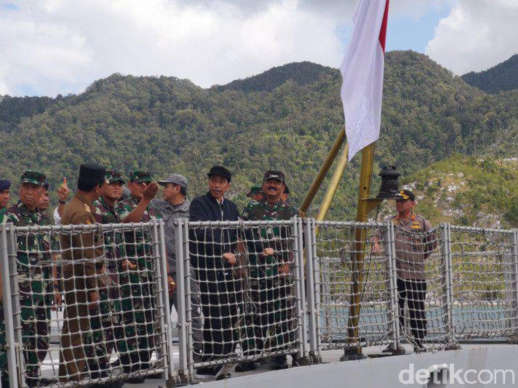 Bertemu Nelayan, Jokowi Tegaskan Natuna Teritorial NKRI
