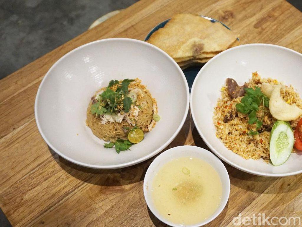 Sedapnya Nasi Goreng Cingur di Resto Bakmi Kekinian