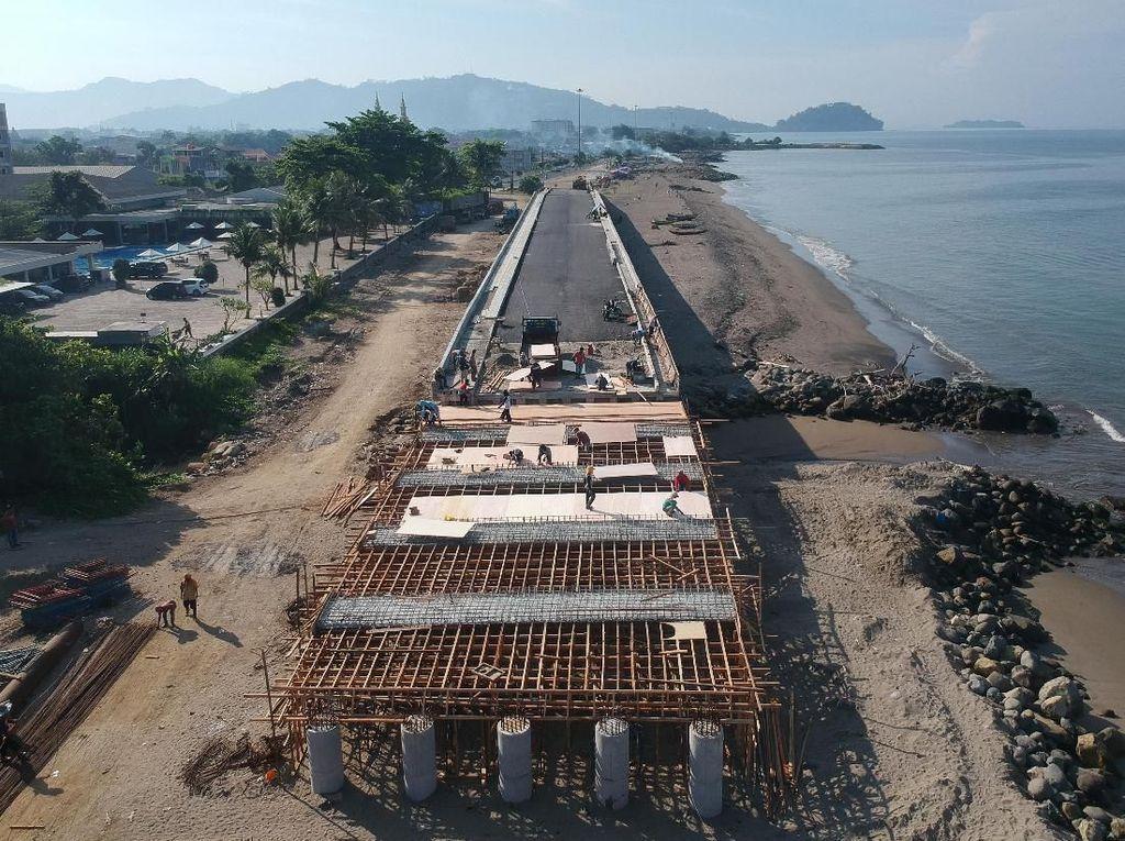 Pembangunan Jembatan Penghubung Pantai di Padang Terus Dikebut