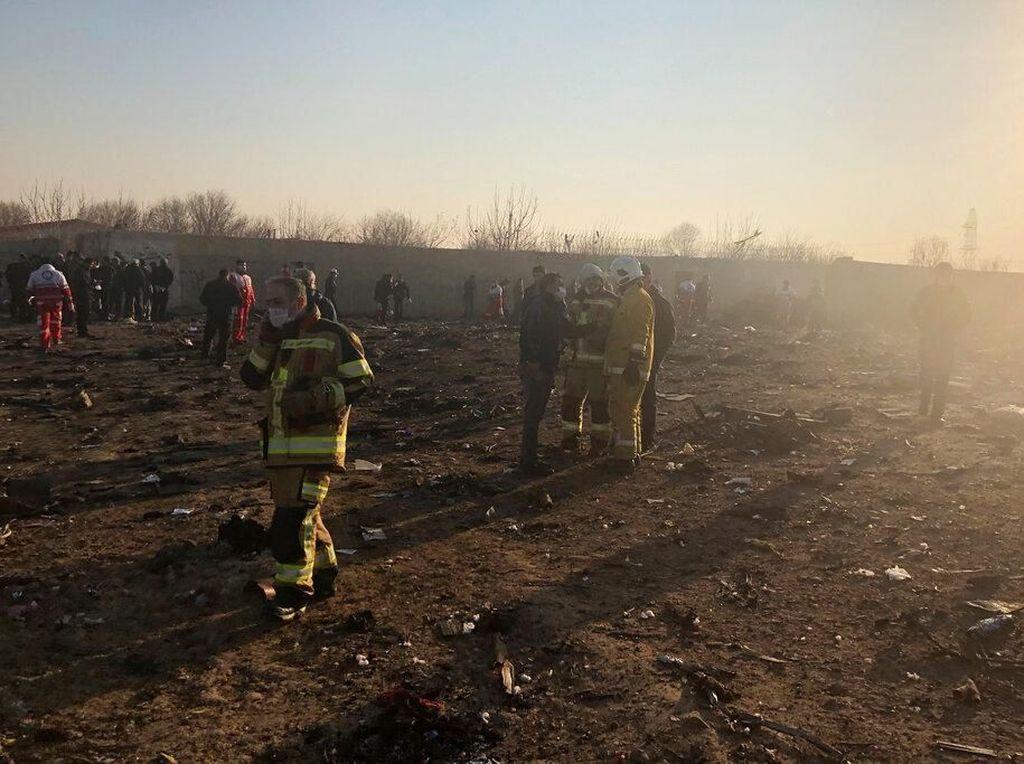 Sejumlah Tragedi Boeing 737-800, Pesawat yang Jatuh di Iran