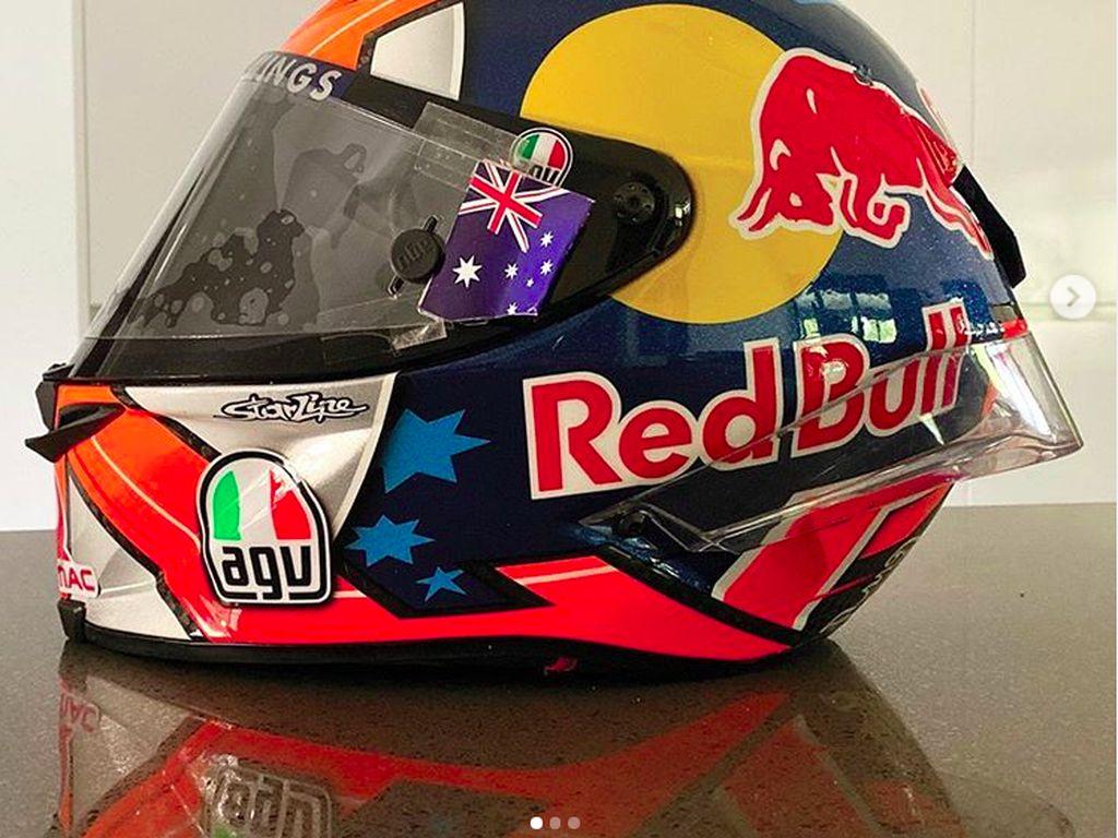 Ini Helm MotoGP yang Dilelang untuk Donasi Kebakaran Hutan
