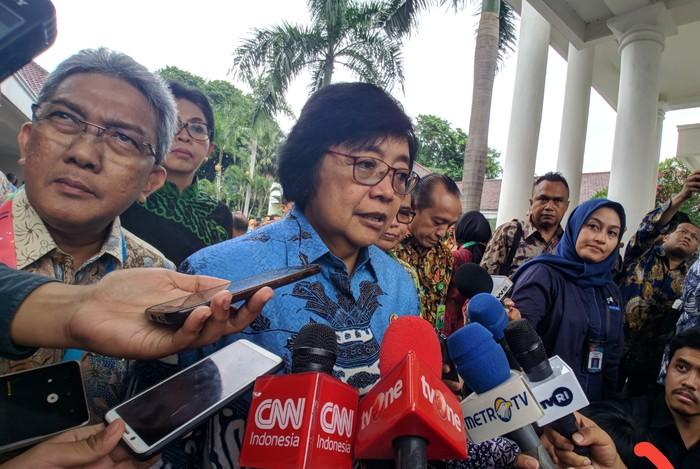 Foto: Menteri LHK Siti Nurbaya (Jefrie-detikcom)