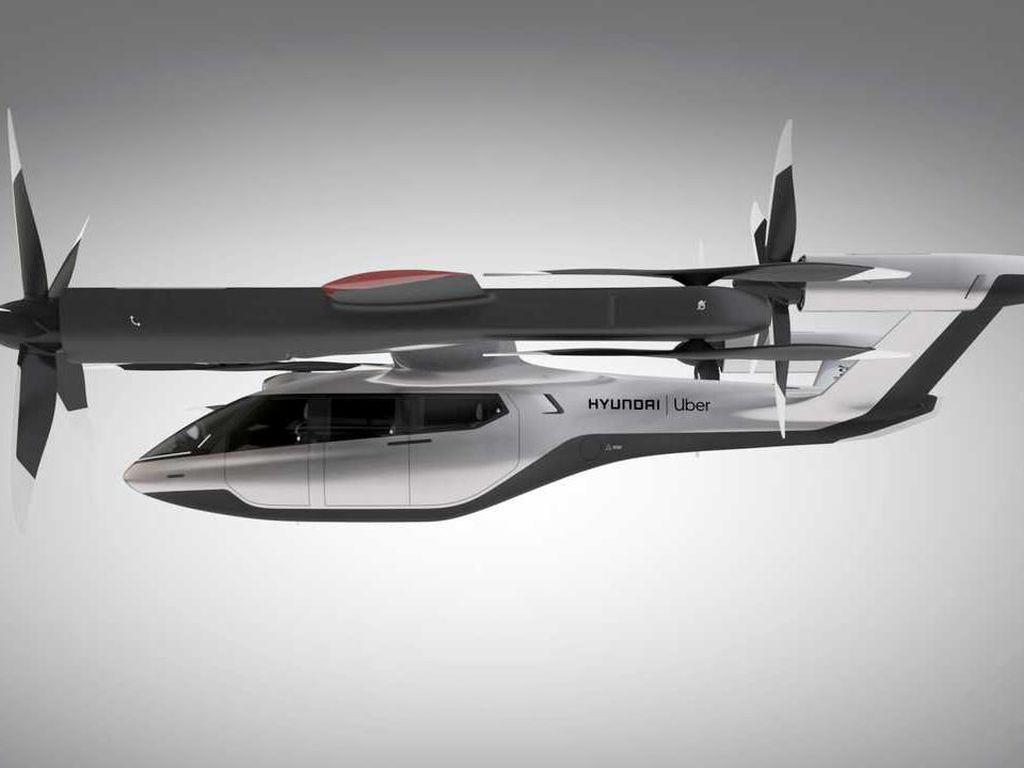 Hyundai Mau Bikin Mobil Terbang, Begini Bentuknya