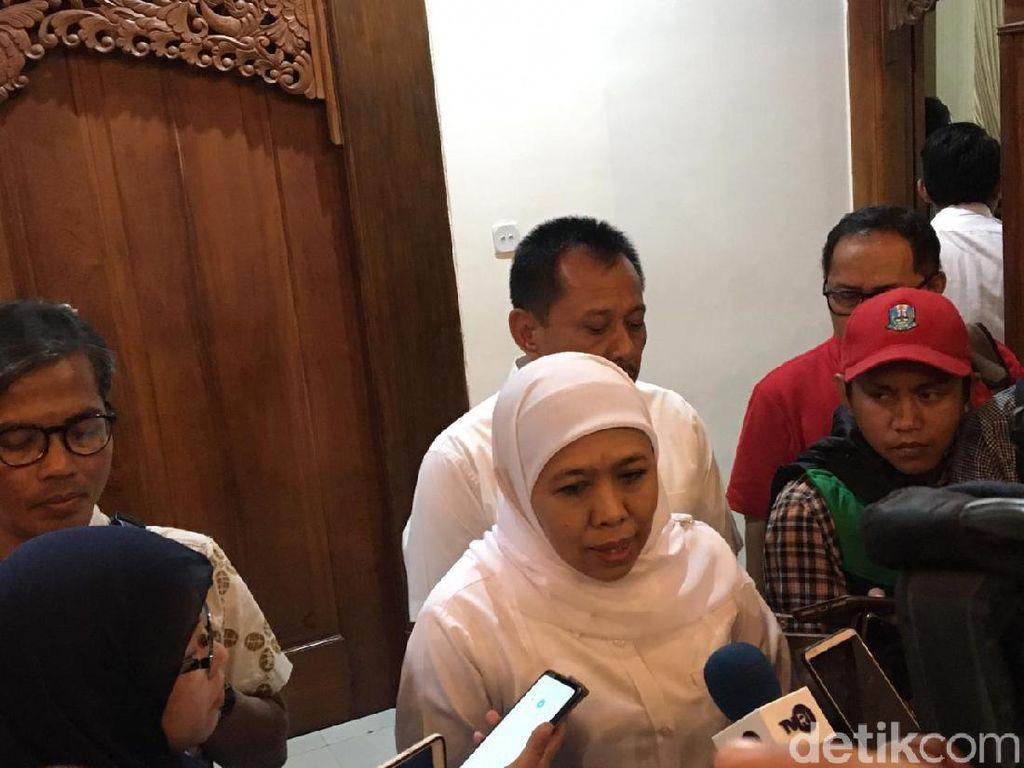 Saat Kumpulkan Kepala Daerah se-Jatim, Khofifah Akan Undang Ketua KPK