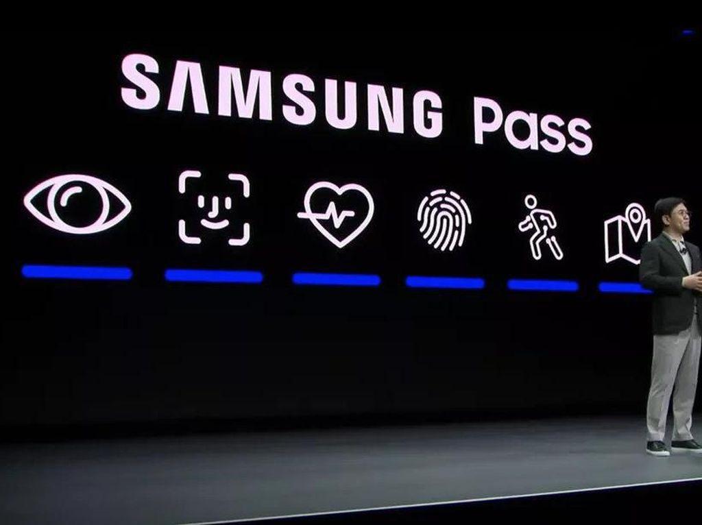 Samsung Tiru Logo Face ID