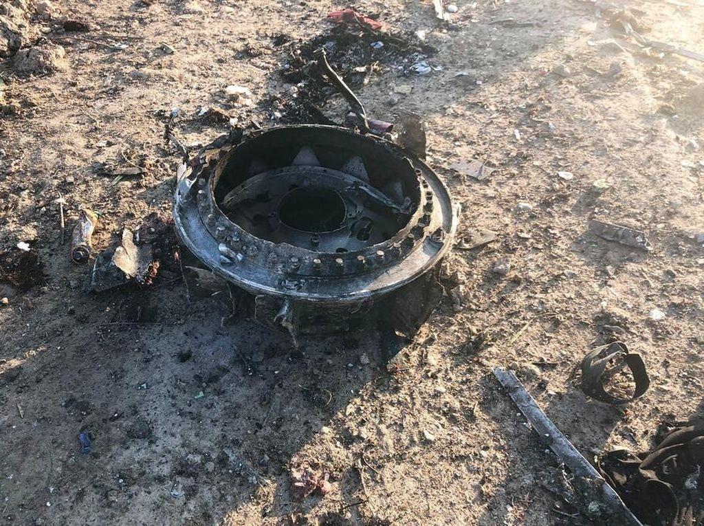Iran Tolak Berikan Black Box Pesawat Ukraina yang Jatuh ke AS