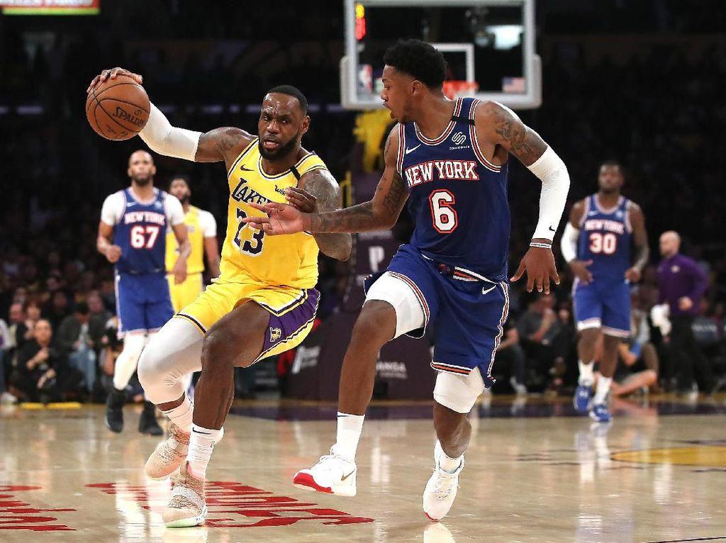 Hasil NBA: Lakers Lanjutkan Rentetan Kemenangan, Atasi Knicks 117-87