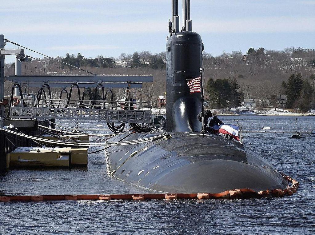 Dahsyatnya Tabrakan Kapal Selam Perang AS dengan Gunung Bawah Laut