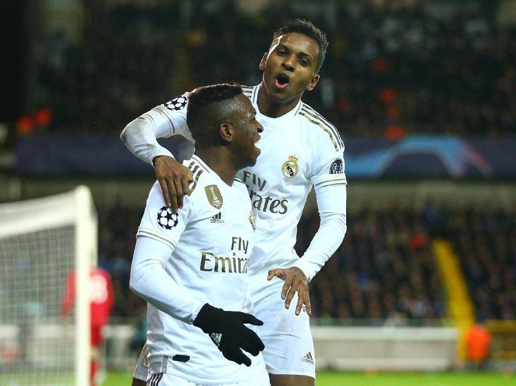 Neymar Ingin Rodrygo dan Vinicius Sukses di Real Madrid