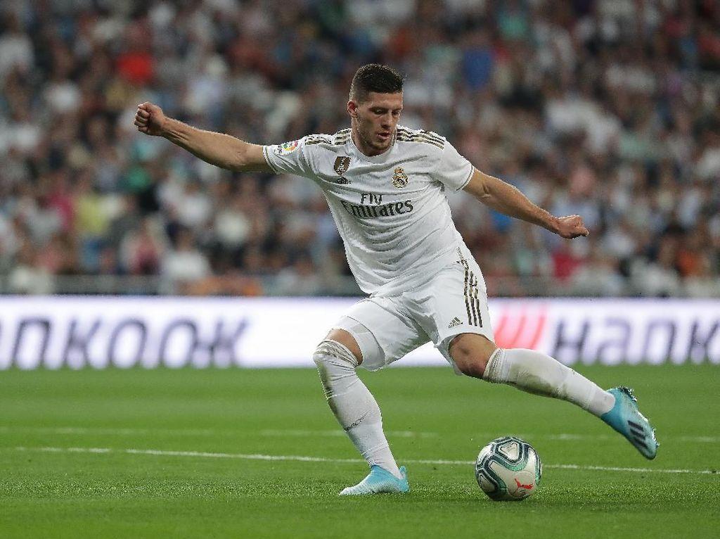 AC Milan Ingin Angkut Luka Jovic dari Real Madrid
