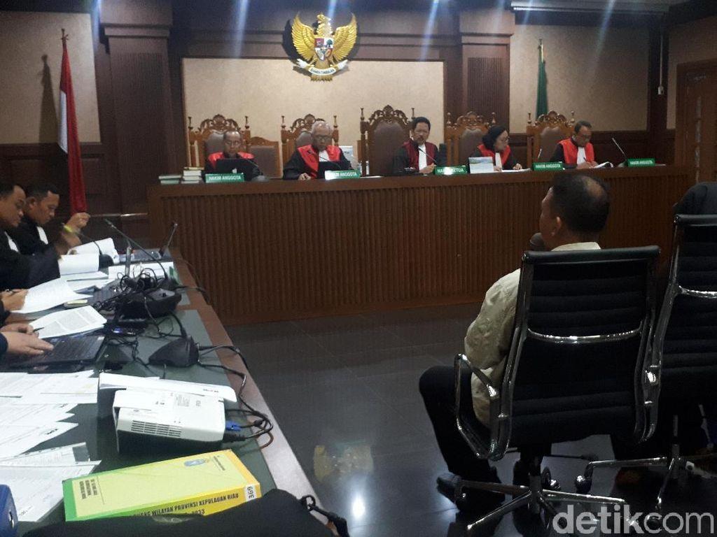 Anak Buah Eks Gubernur Kepri Disebut Minta Duit ke Pengusaha