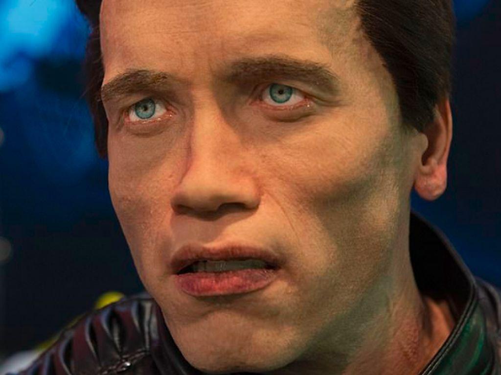 Ill Be Back! Bukan Terminator, Ada Robot Mirip Arnold Schwarzenegger