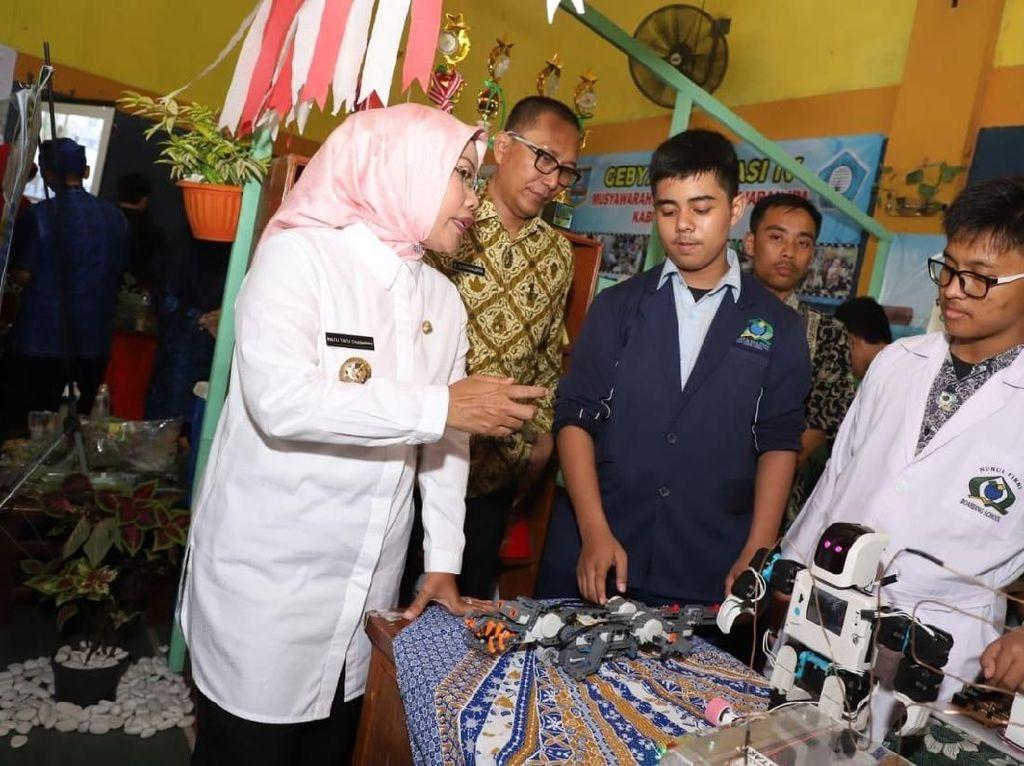 Siswa di Kabupaten Serang Memasuki Era Literasi Teknologi