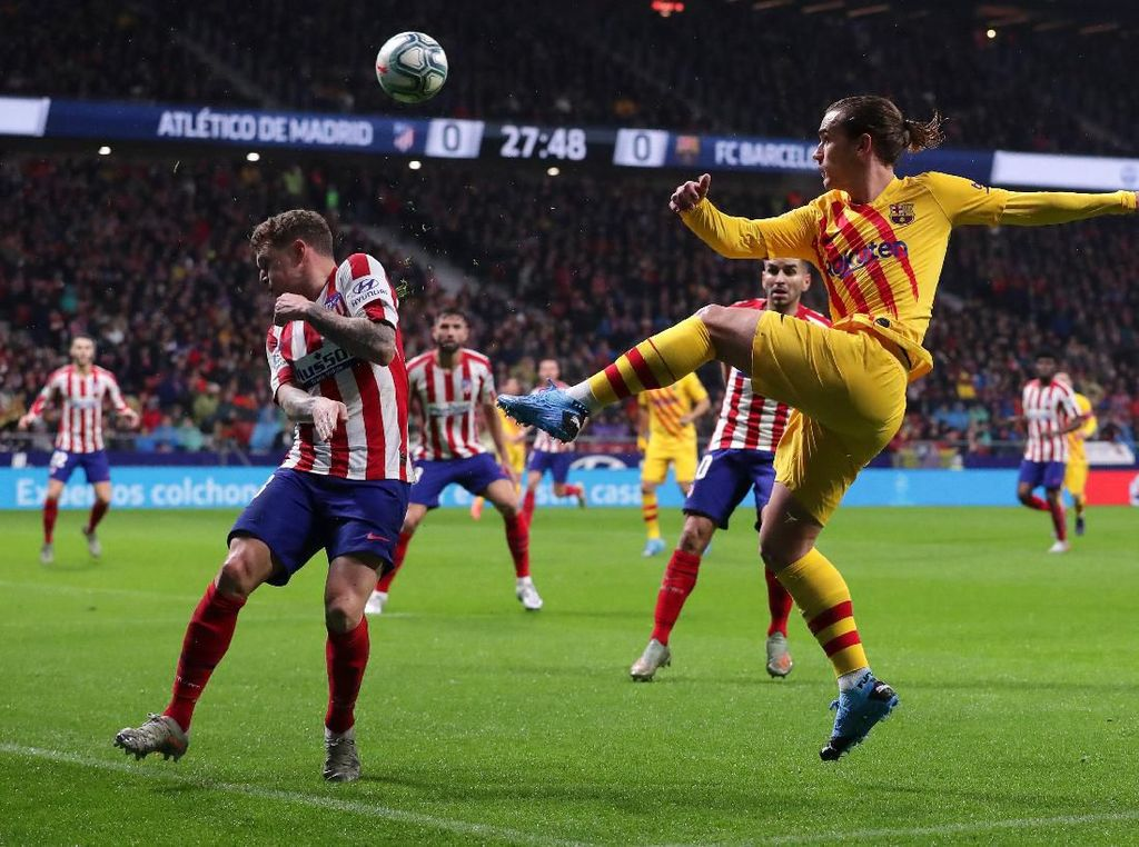 Laju Positif Bikin Atletico Pede Hadapi Barcelona di Piala Super Spanyol